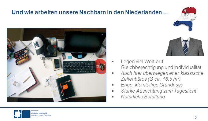 Und wie arbeiten unsere Nachbarn in den Niederlanden…
