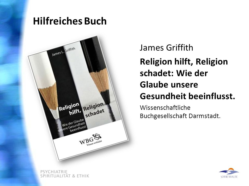 Hilfreiches Buch James Griffith