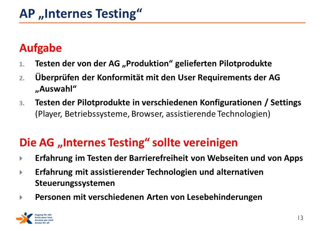 "AP ""Internes Testing Aufgabe"