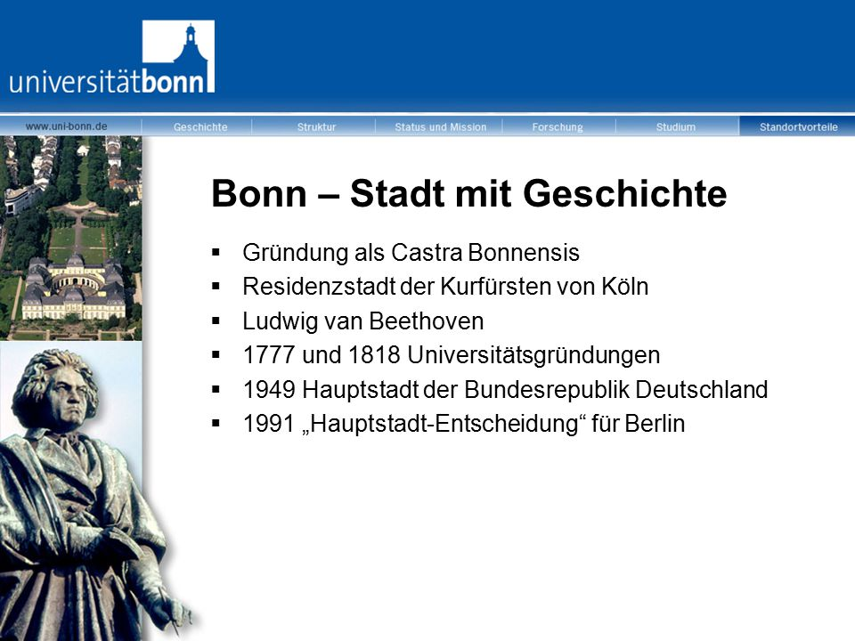 Bonn – Stadt mit Geschichte