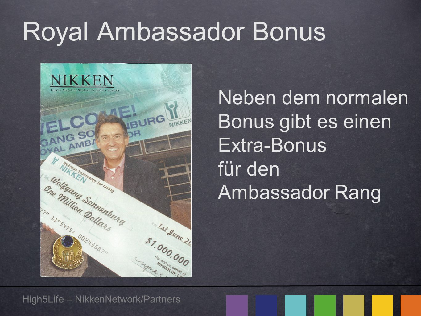 Royal Ambassador Bonus