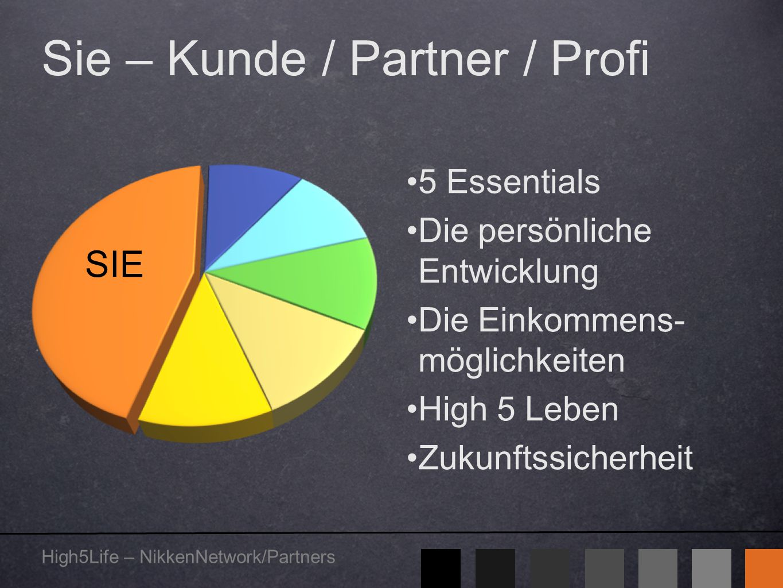 Sie – Kunde / Partner / Profi
