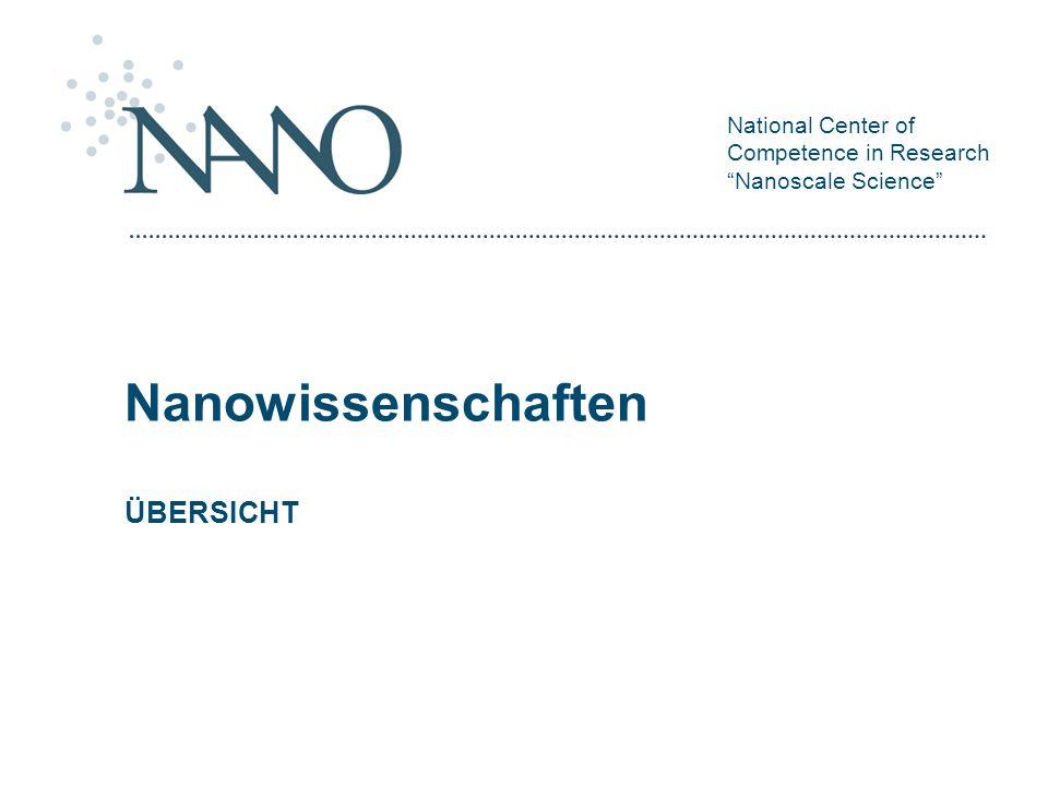 Nanowissenschaften ÜBERSICHT