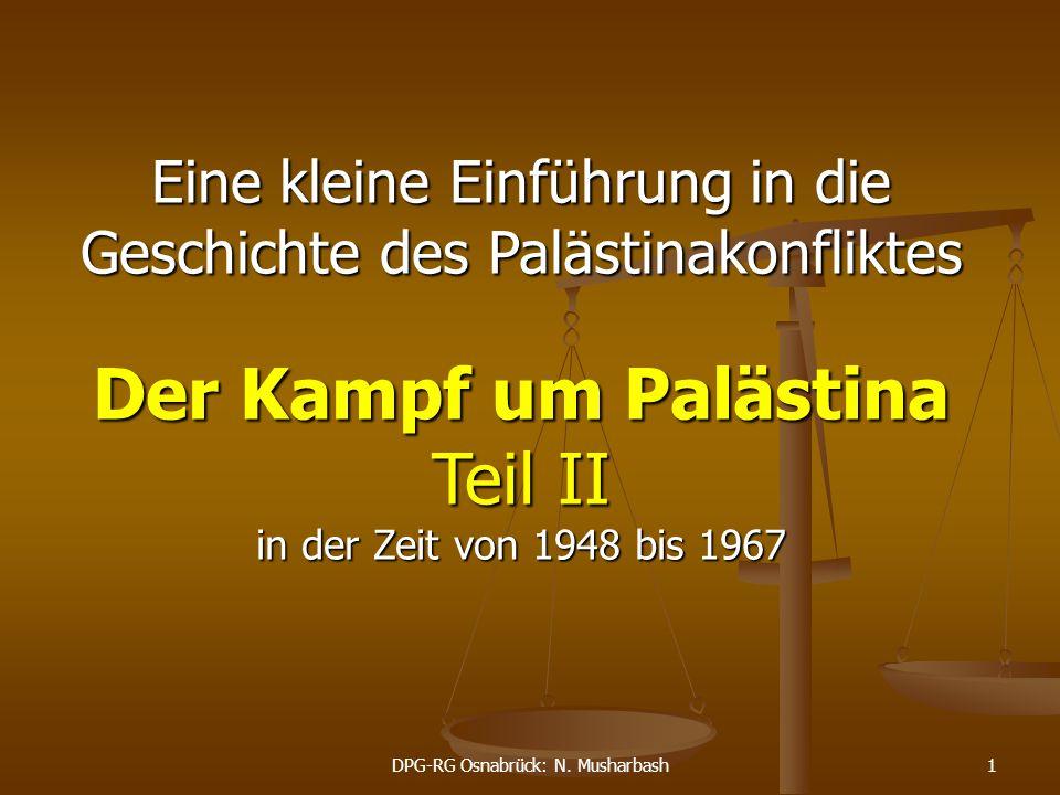 Der Kampf um Palästina Teil II
