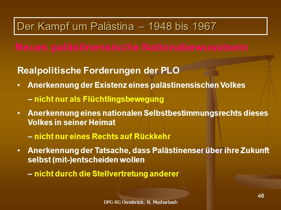 DPG-RG Osnabrück: N. Musharbash
