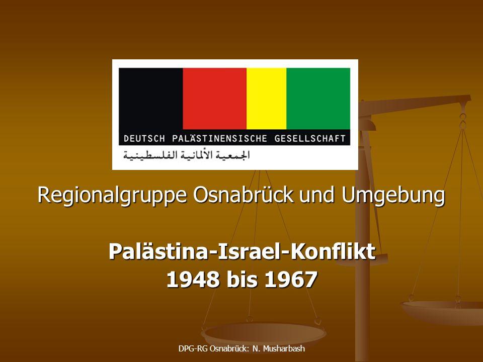 Palästina-Israel-Konflikt