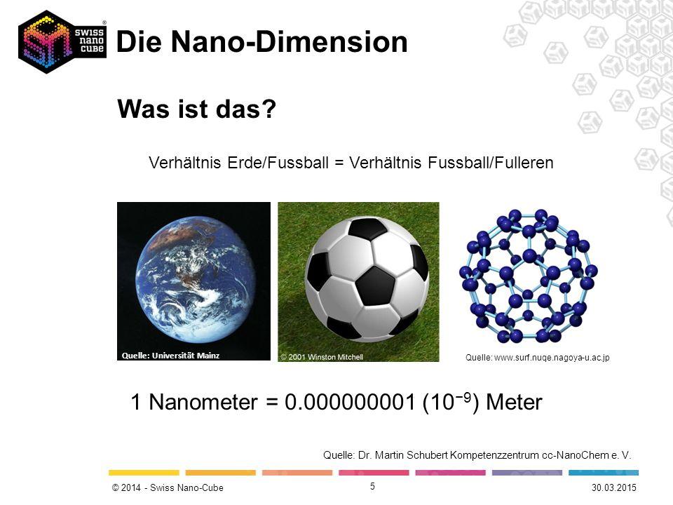 Verhältnis Erde/Fussball = Verhältnis Fussball/Fulleren