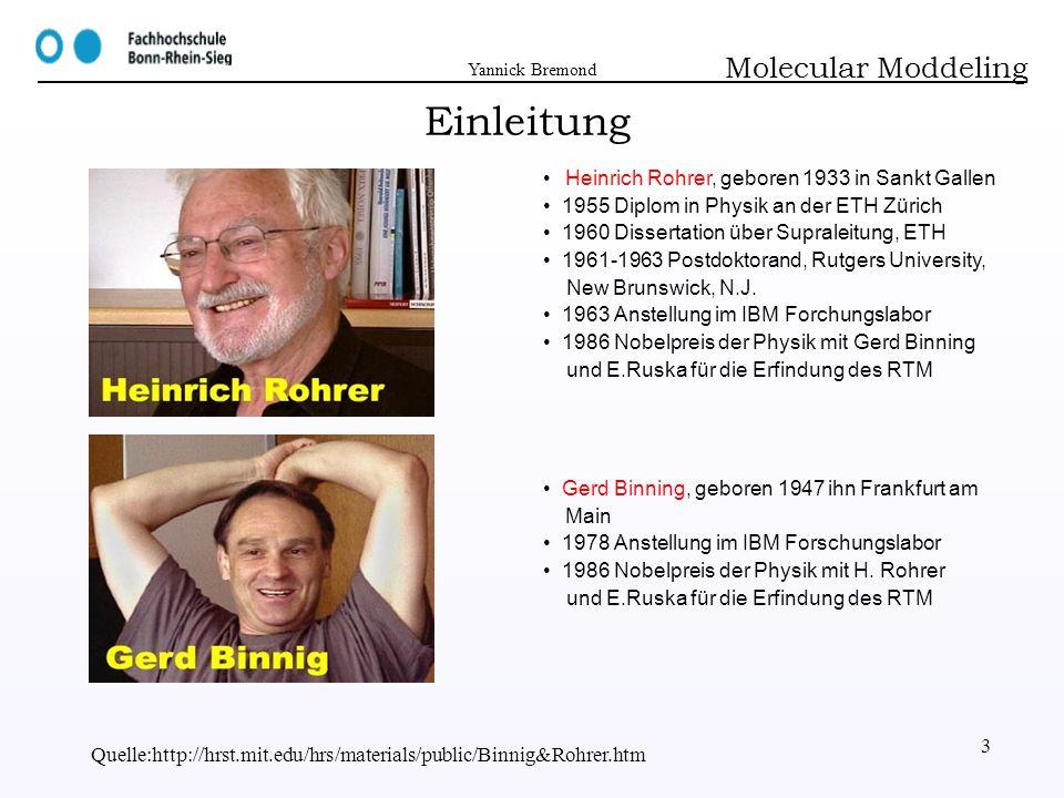 Einleitung Molecular Moddeling