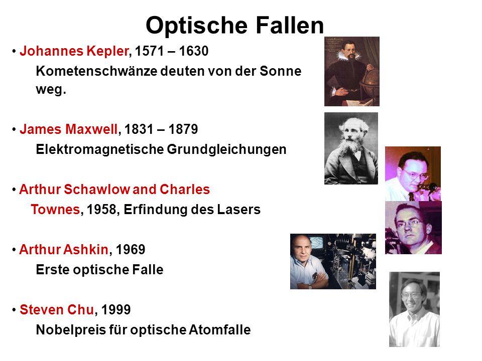 Optische Fallen Johannes Kepler, 1571 – 1630