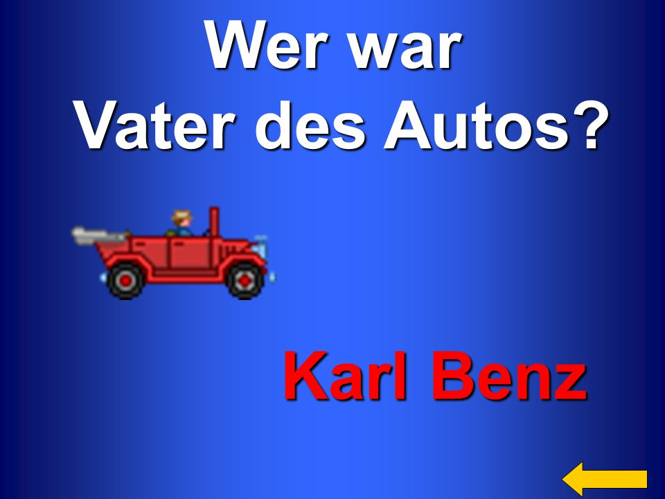 Wer war Vater des Autos Karl Benz