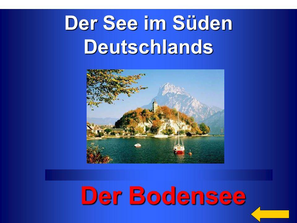 Der Bodensee Der See im Süden Deutschlands Категория4 за 300