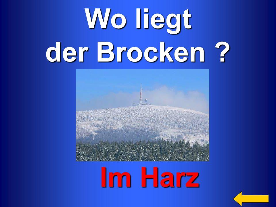 Wo liegt der Brocken Im Harz