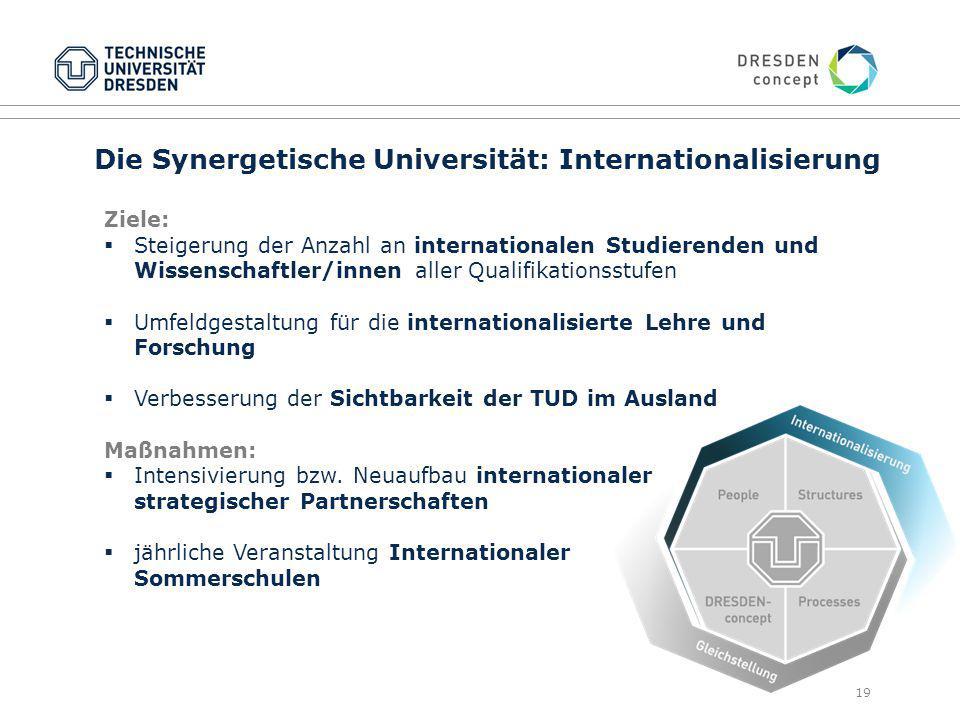 Die Synergetische Universität: Internationalisierung