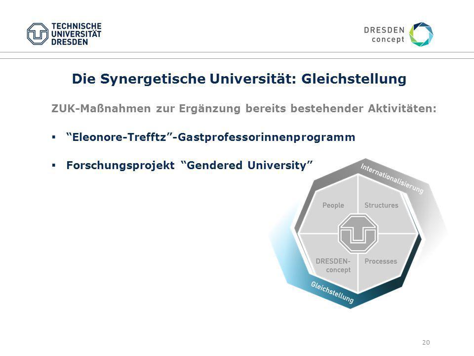 Die Synergetische Universität: Gleichstellung