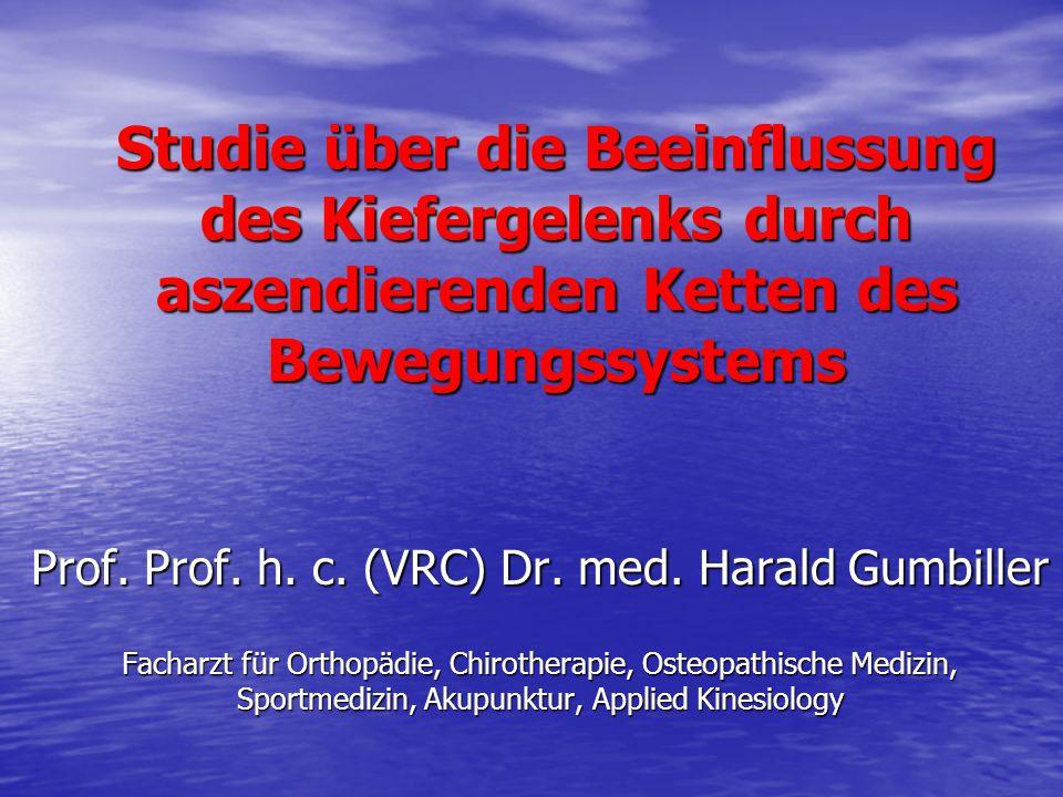 Prof. Prof. h. c. (VRC) Dr. med. Harald Gumbiller