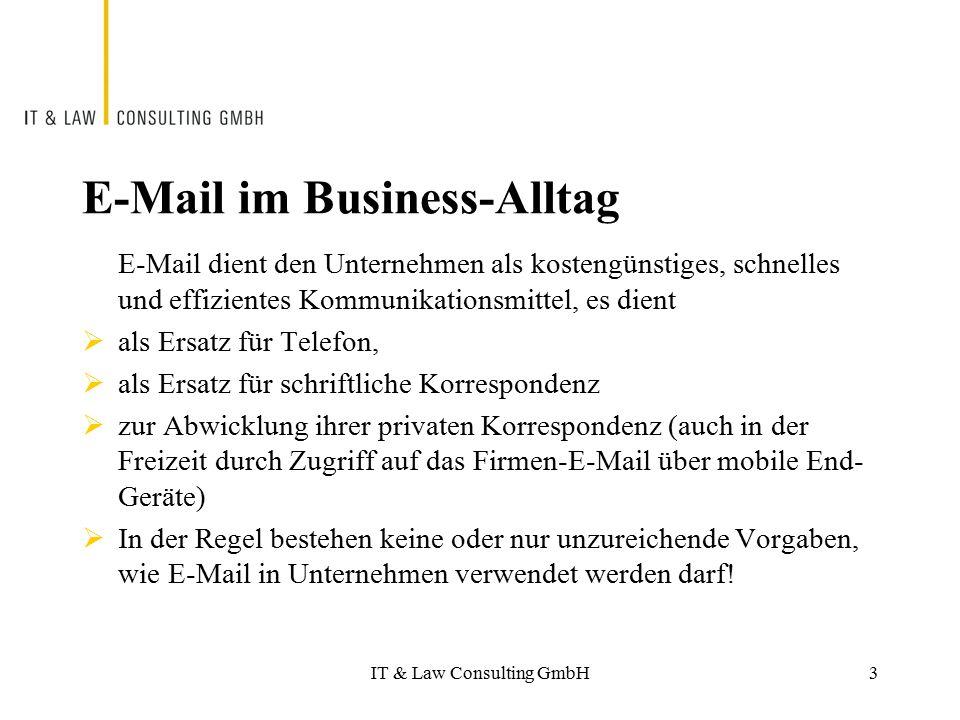 E-Mail im Business-Alltag