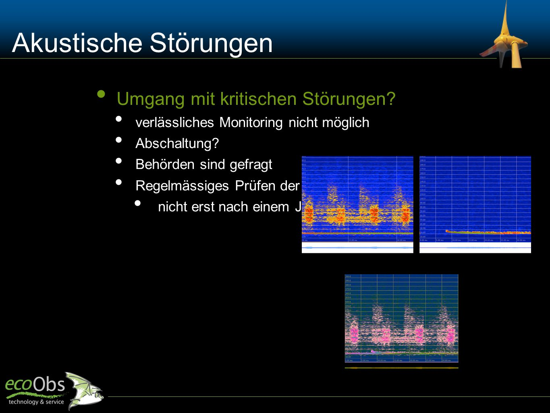 Akustische Störungen Umgang mit kritischen Störungen