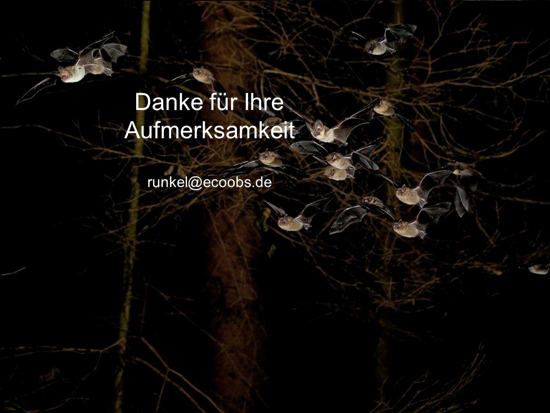 Danke für Ihre Aufmerksamkeit runkel@ecoobs.de