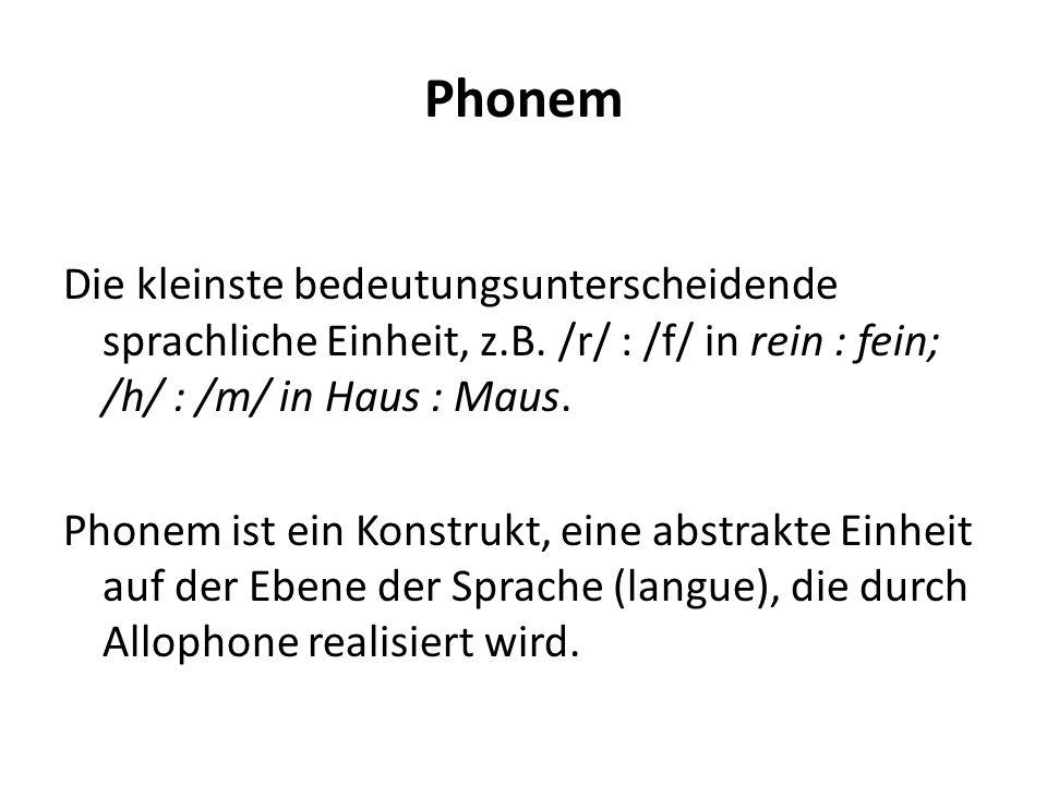 Phonem