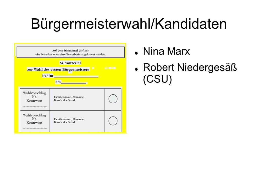 Bürgermeisterwahl/Kandidaten