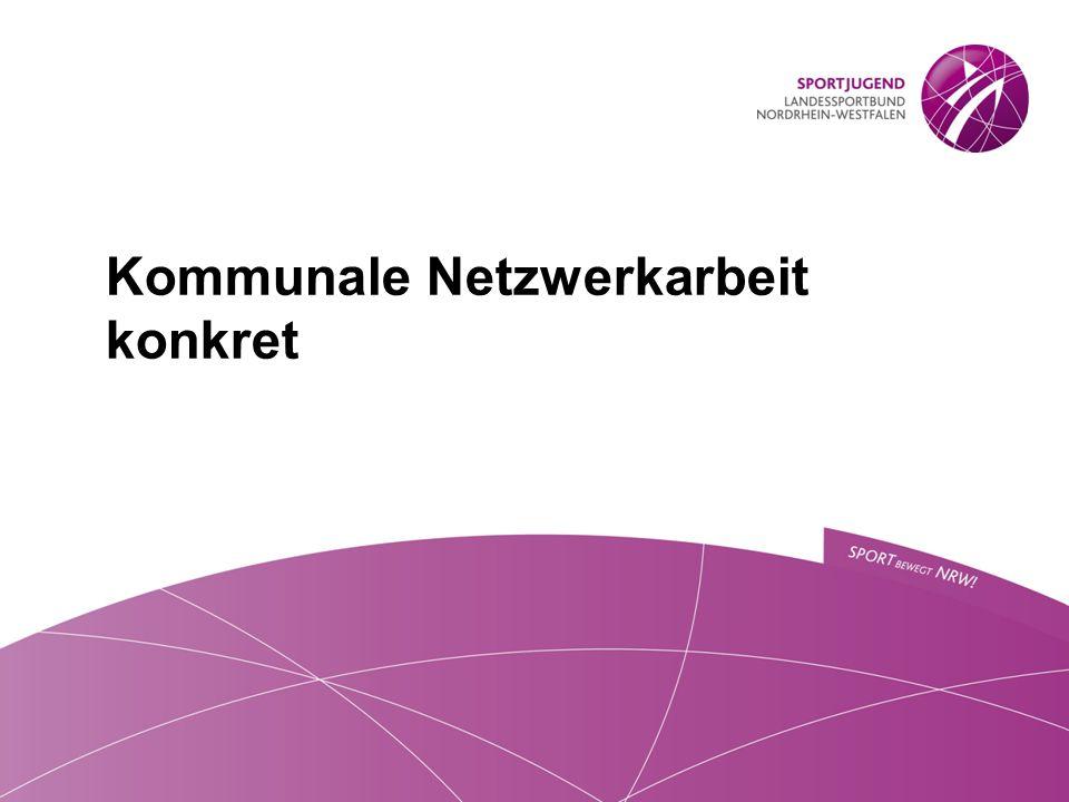 Kommunale Netzwerkarbeit