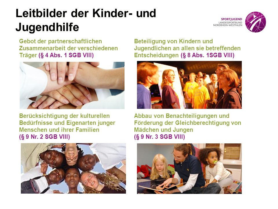Leitbilder der Kinder- und Jugendhilfe