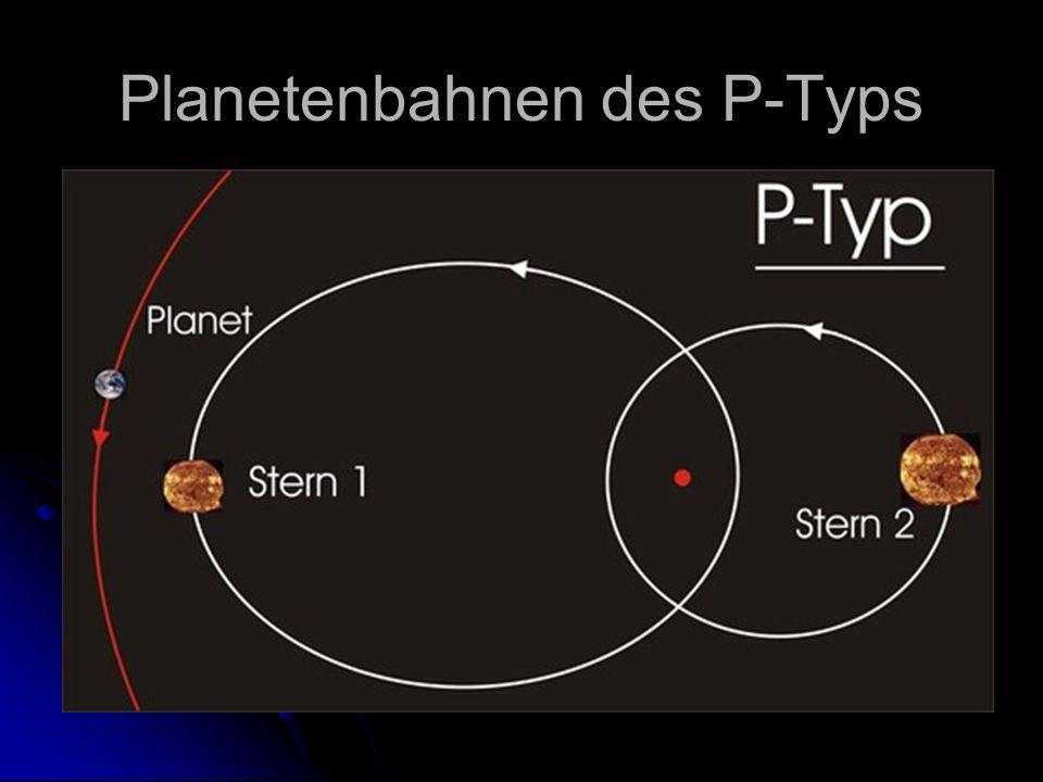 Planetenbahnen des P-Typs