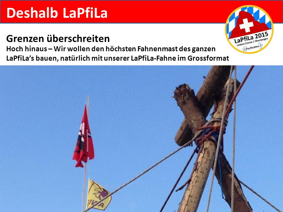 Deshalb LaPfiLa Grenzen überschreiten