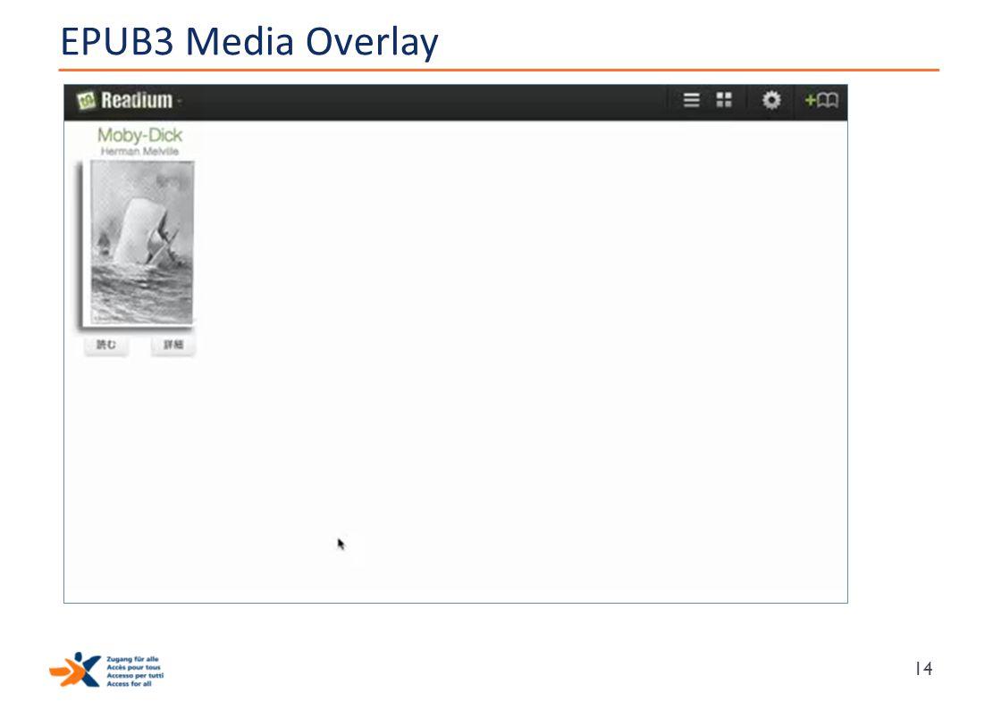 EPUB3 Media Overlay