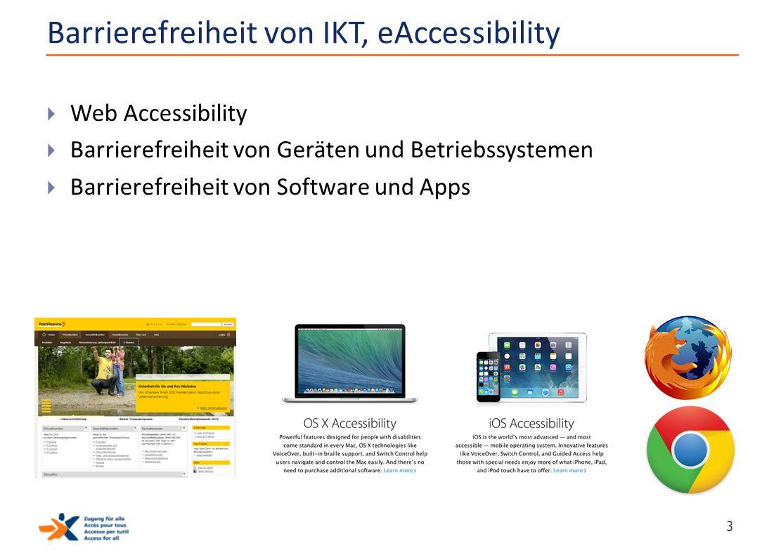 Barrierefreiheit von IKT, eAccessibility