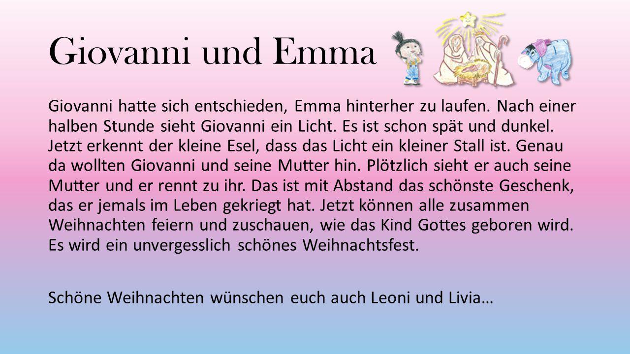 Giovanni und Emma