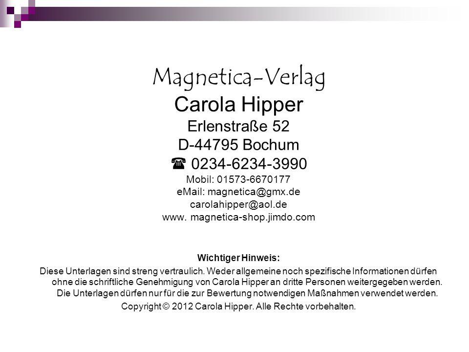 Copyright © 2012 Carola Hipper. Alle Rechte vorbehalten.