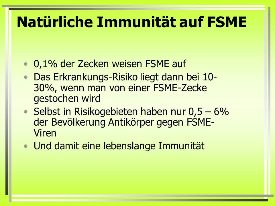 Natürliche Immunität auf FSME