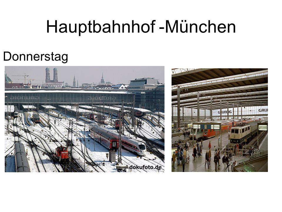 Hauptbahnhof -München