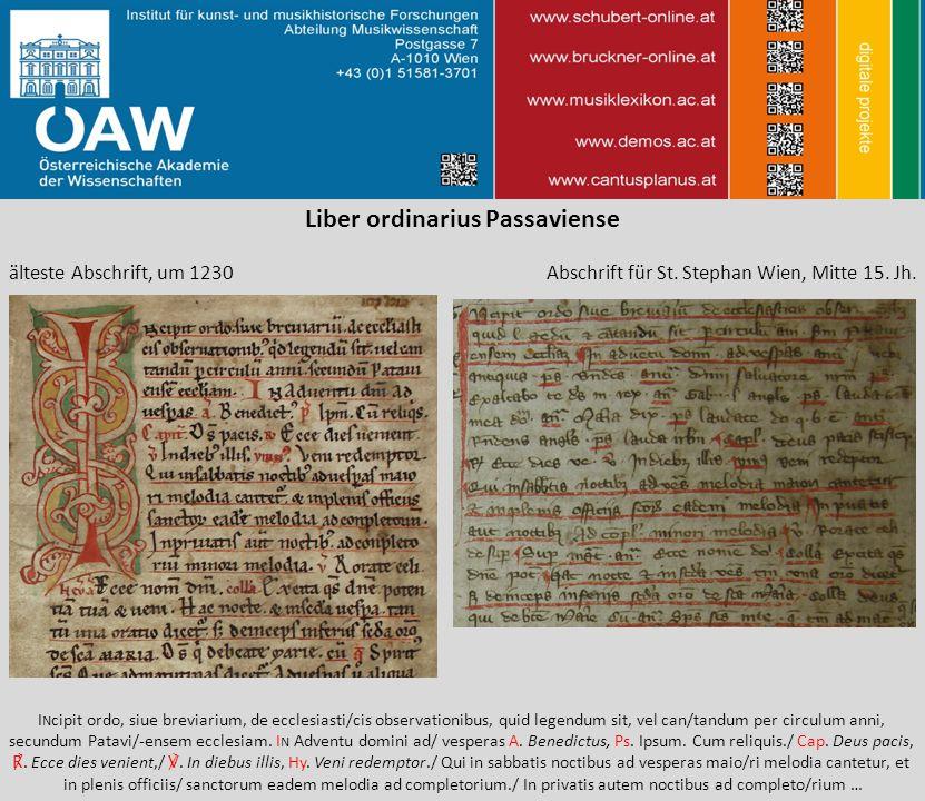 Liber ordinarius Passaviense