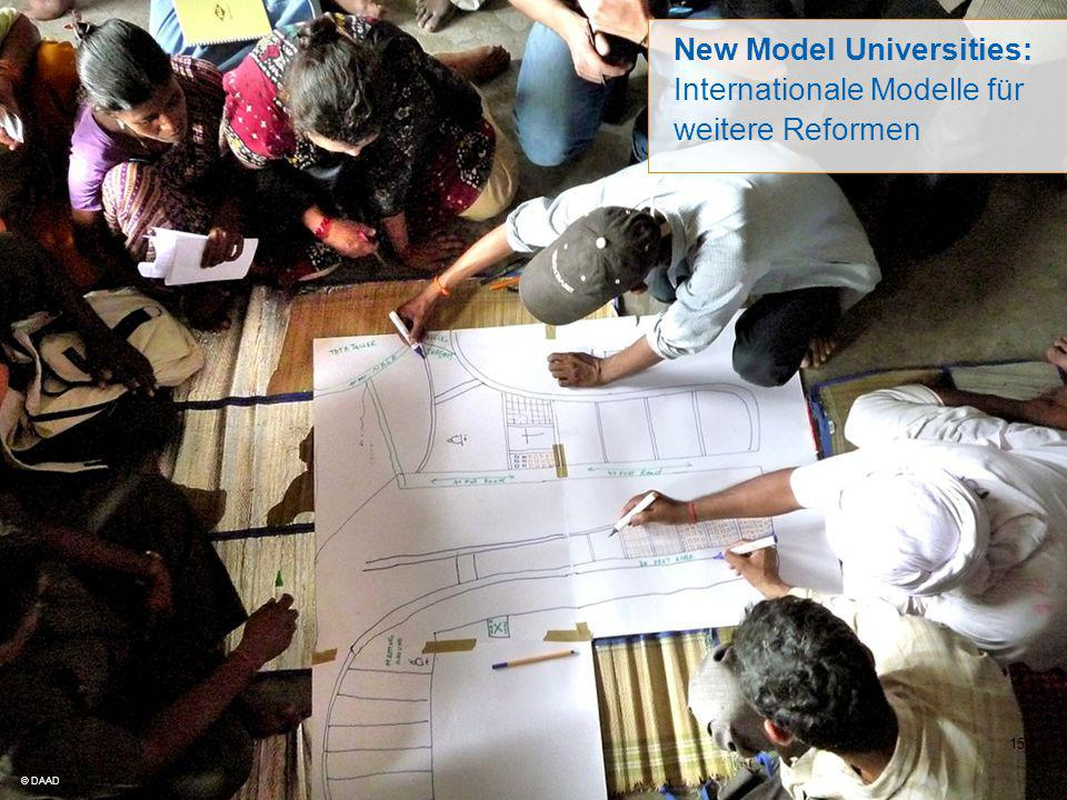 New Model Universities: Internationale Modelle für weitere Reformen
