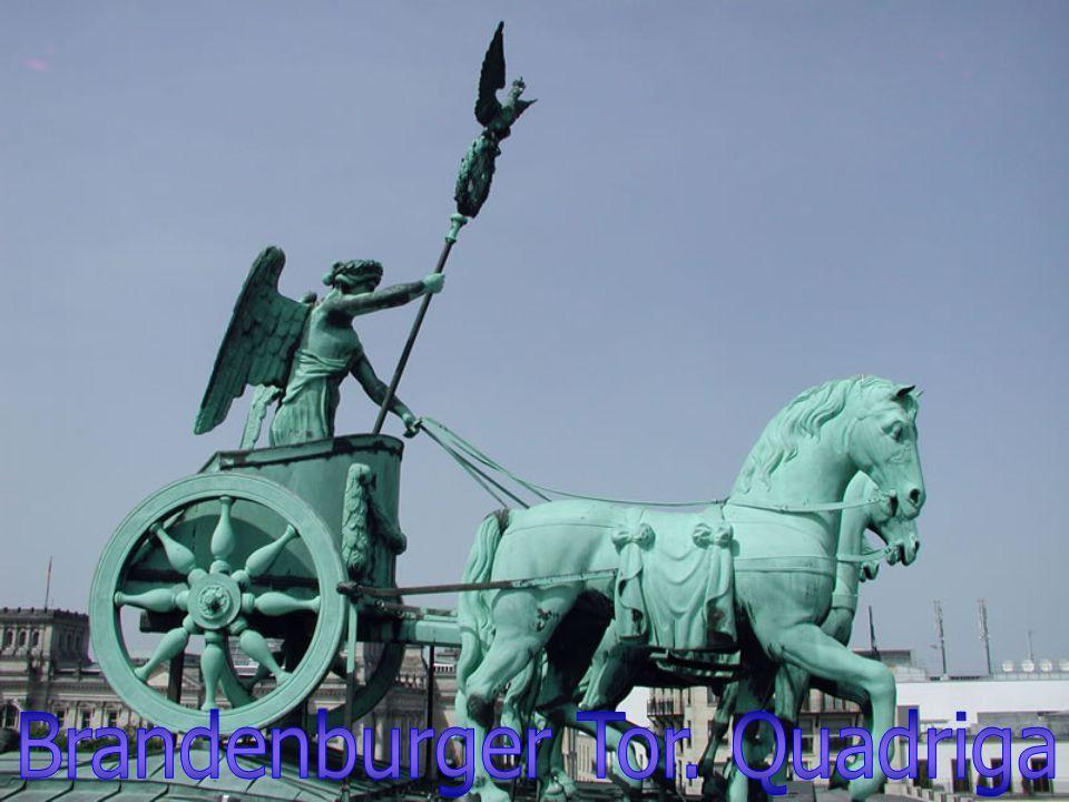 Brandenburger Tor. Quadriga