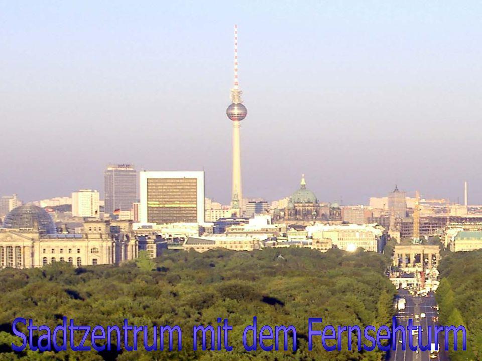Stadtzentrum mit dem Fernsehturm