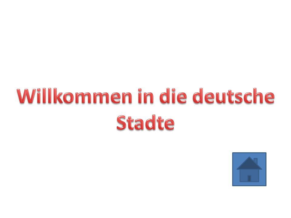 Willkommen in die deutsche Stadte