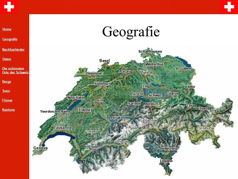 Geografie Home Geografie Nachbarländer Daten Die schönsten