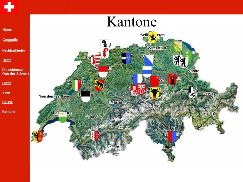 Kantone Home Geografie Nachbarländer Daten Die schönsten