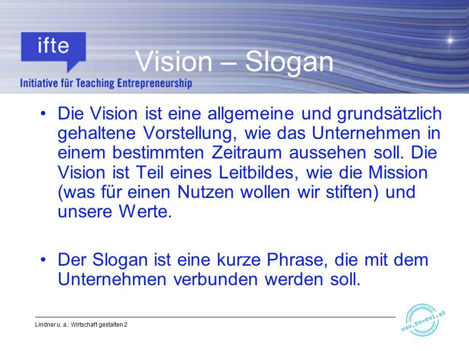 Vision – Slogan