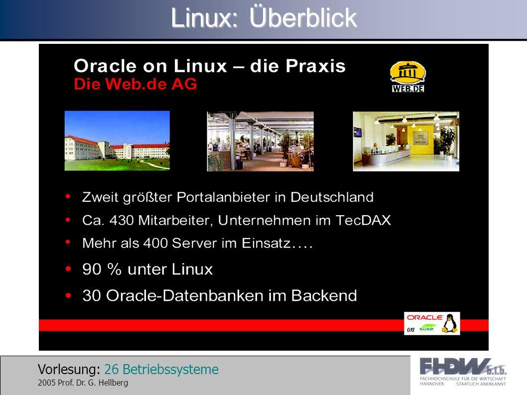 Linux: Überblick