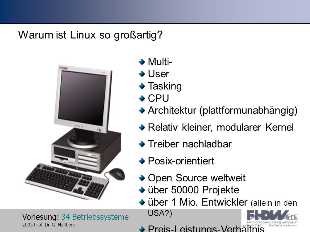 Warum ist Linux so großartig
