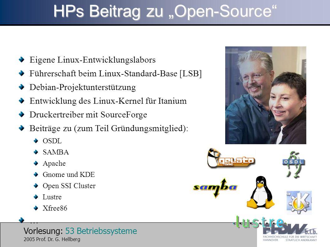 "HPs Beitrag zu ""Open-Source"