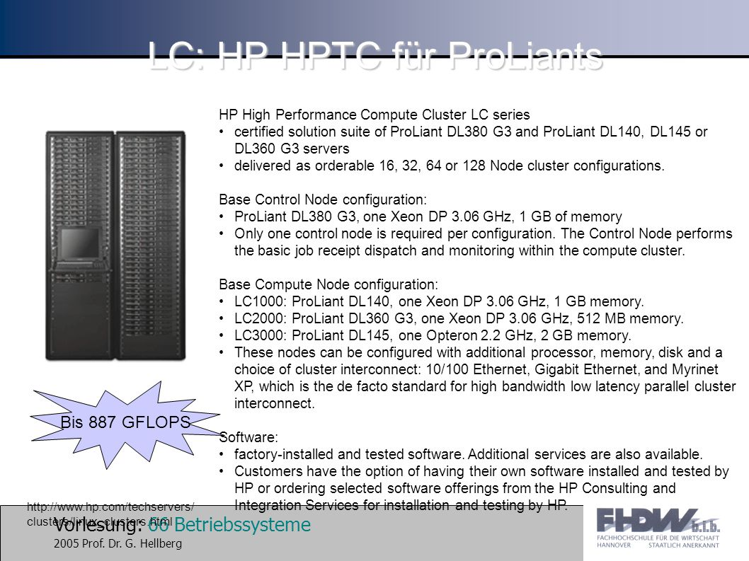 LC: HP HPTC für ProLiants
