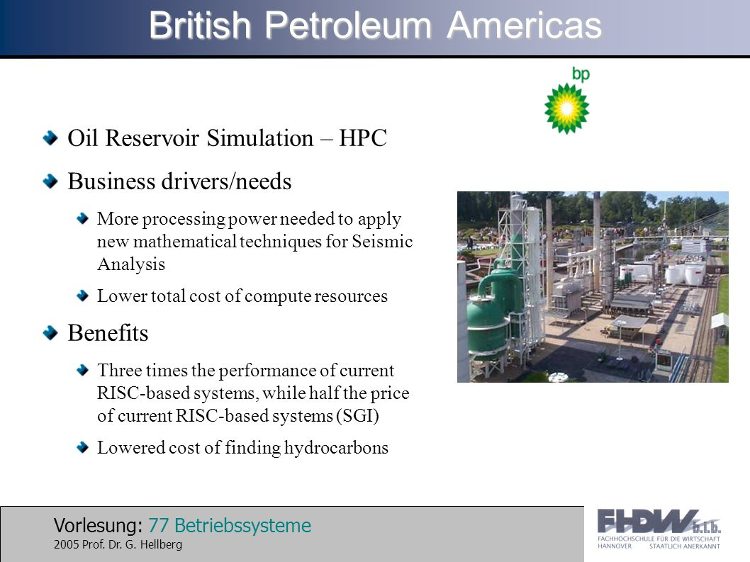 British Petroleum Americas