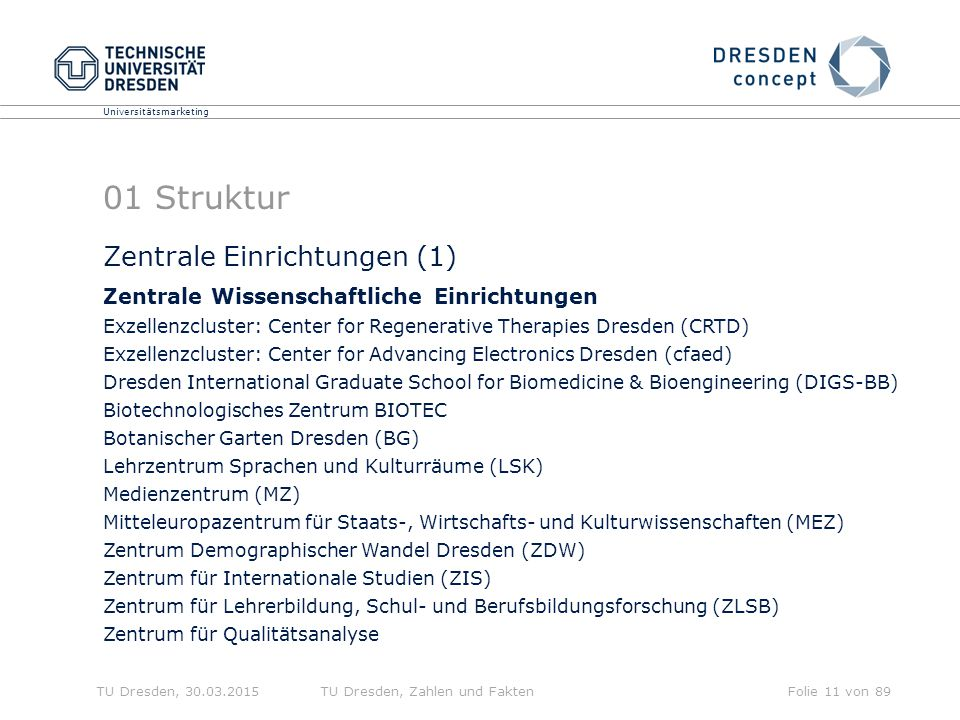 01 Struktur Zentrale Einrichtungen (1)
