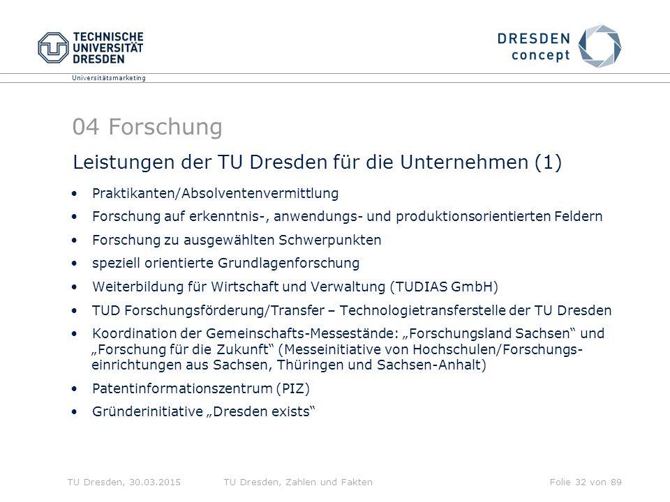 04 Forschung Leistungen der TU Dresden für die Unternehmen (1)