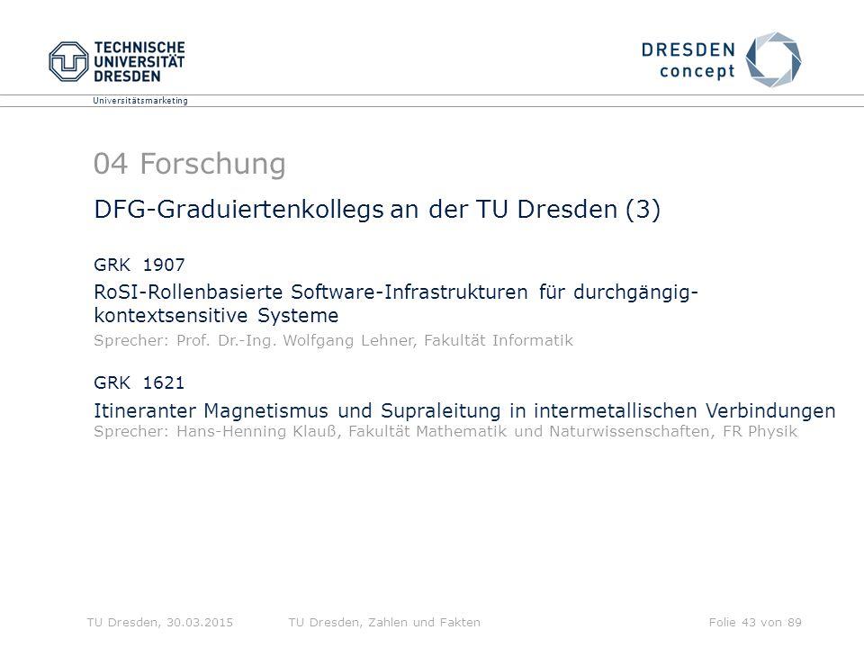 04 Forschung DFG-Graduiertenkollegs an der TU Dresden (3)